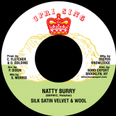 Silk Satin Velvet & Wool - Natty Burry / Advocates Aggregation - Satan Pickney (Uprising/ DKR) US 7""